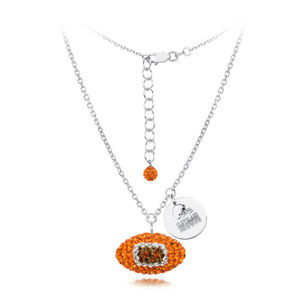 Licensed NFL Cleveland Browns Football Necklace